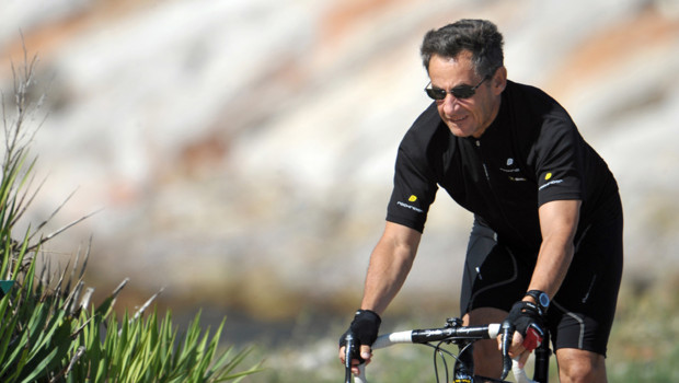 Sarkozy vélo